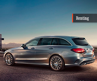 Mercedes Clase C 220 d Estate con Mercedes-Benz Renting