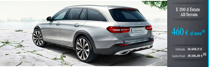 Oferta Mercedes Clase E Estate All-Terrain